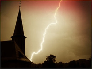 Lightning_and_the_Church