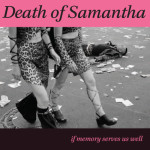 Death Of Samantha CD