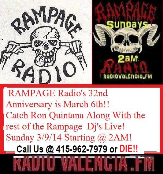 Rampage Annivesary Banner