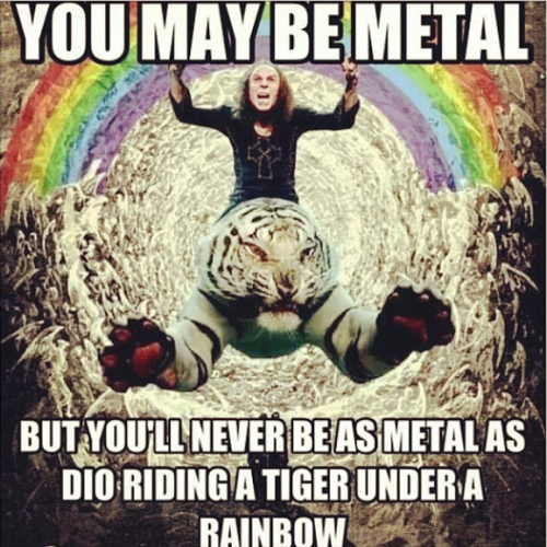 Dio on a Tiger