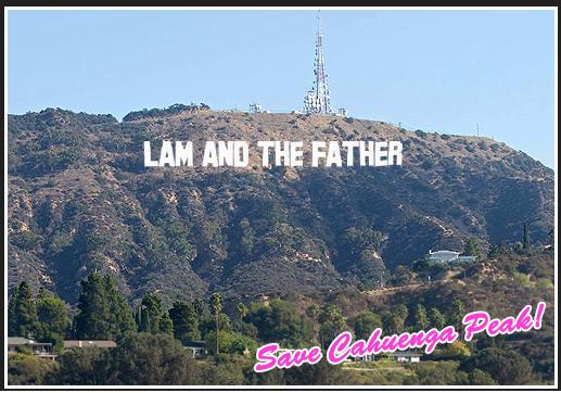 lamandthefather Hollywood sign