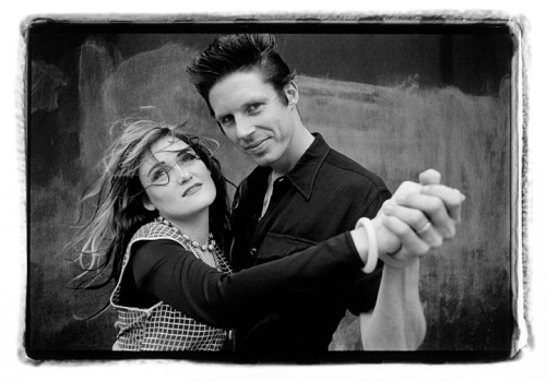 John Doe and Exene X NYC 1982 © Laura Levine